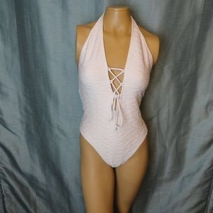 3b4600d0958 NWT Milly Cabana White One Piece Swimsuit